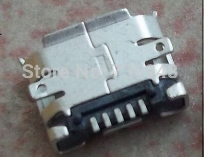 100pcs free shipping micro 5p usb Connector Charger Charging Port for Motorola Atrix 2 MB865 Droid 4G XT894 mobiles(China (Mainland))