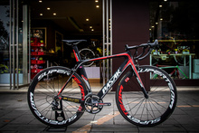 PASAK EDGE S3 5 full carbon fiber T800 complete road racing cycling red color bike/bicycle 5800 10S group+wheel+saddle+handlebar(China (Mainland))