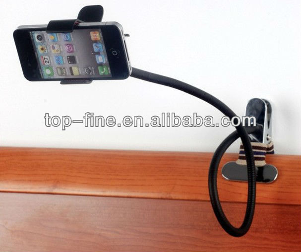 Lazy stand for smartphone holder for bed, car, desk, sofa