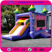 Free Shipping Hot Selling, Inflatable Truck Slide Castle , Bouncer House For Kids,Inflatable Jumping Bed(China (Mainland))