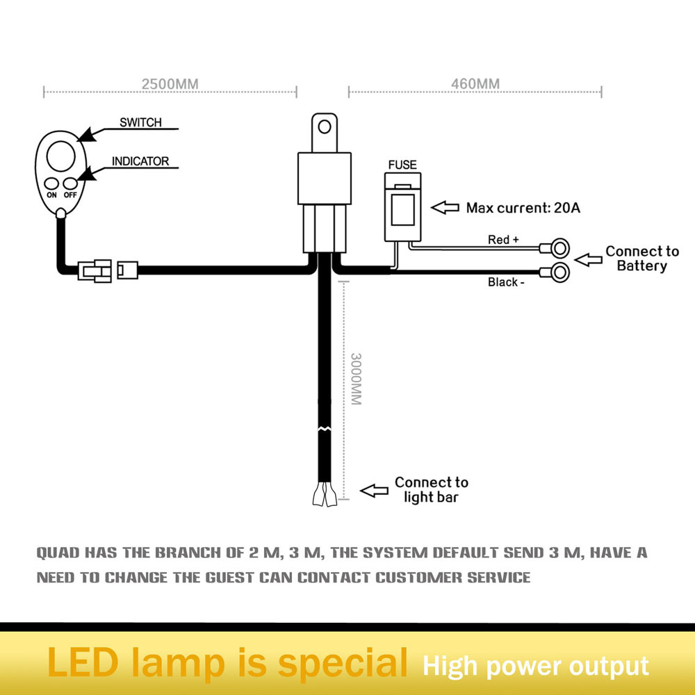Rigid Industries 12 Volt Led Light Bar Wiring Harness Diagrams Diagram Lights Free