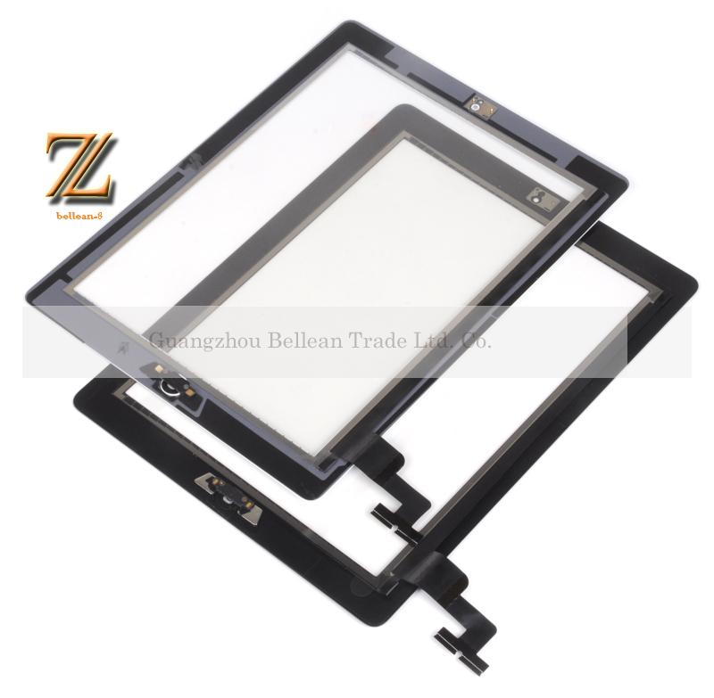 NEW touch screen for iPad 2 touch panel for ipad 2 touch Glass digitizer replacement for apple ipad 2 free shipping 10pcs