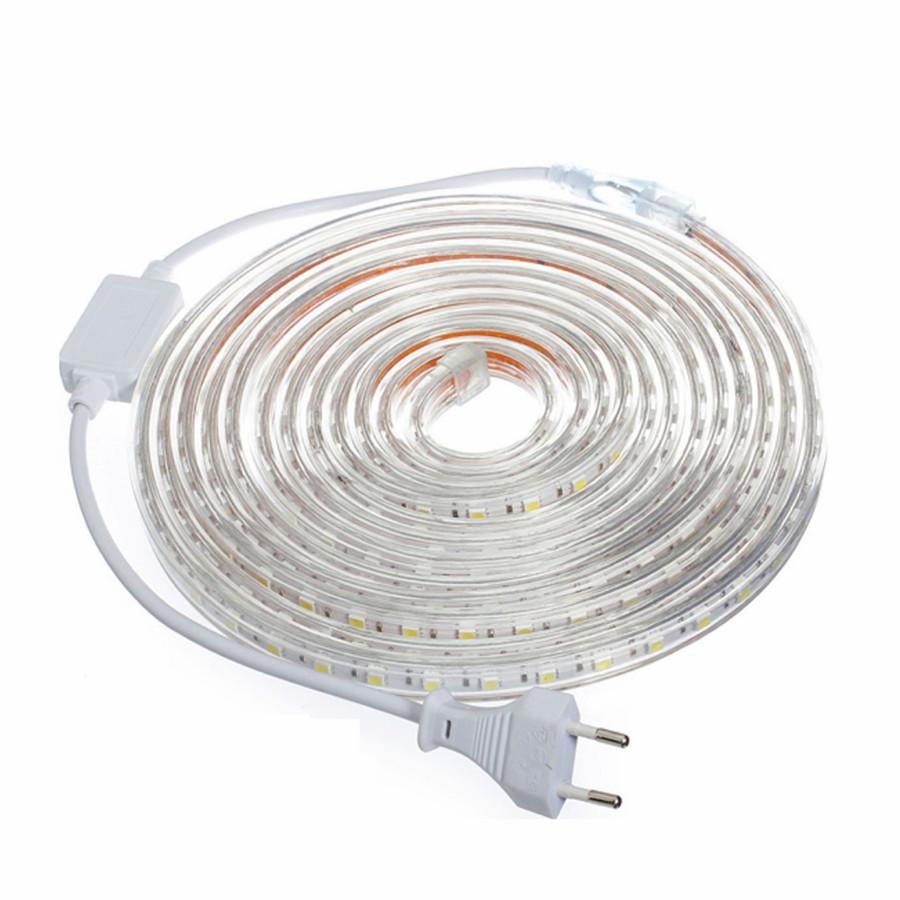 Waterproof Led Strip Light 220V SMD 5050 Flexible light ...