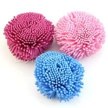 Мягкой Губкой Puff Мяч для Ванны Душ Чистое Тело Шелушение Кожи(China (Mainland))