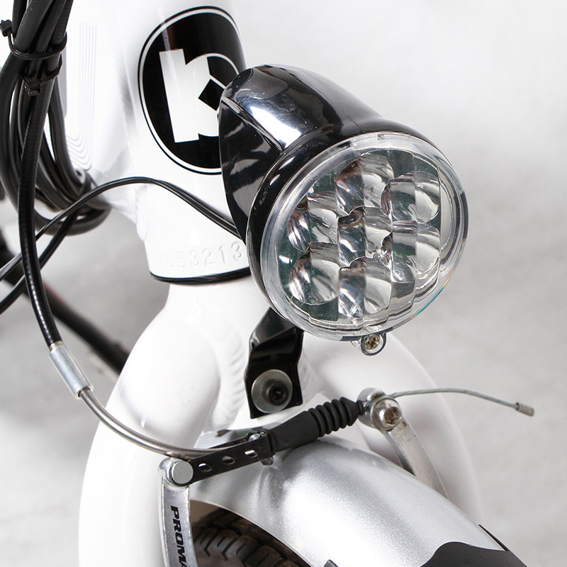 Folding electric bicycle with 250w brushless hub motor