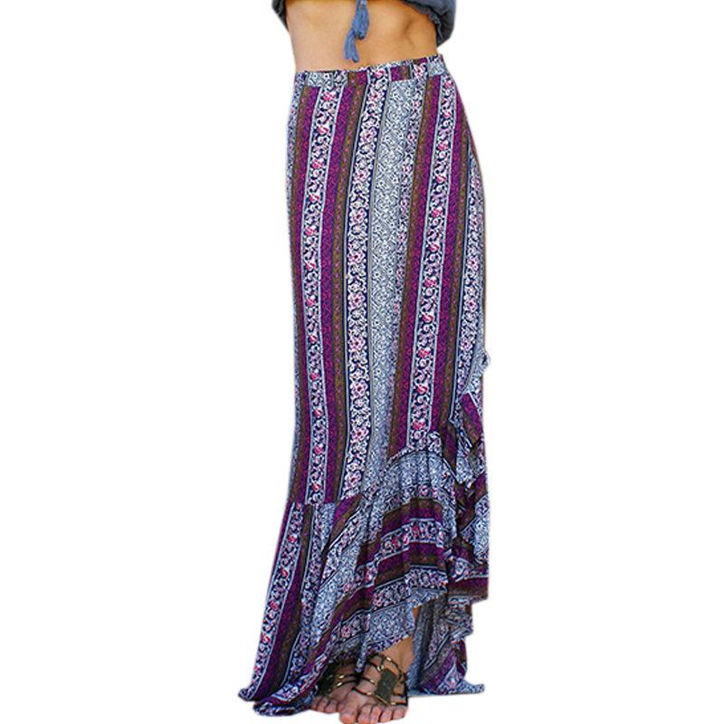 Online Get Cheap High Waisted Maxi Skirt with Slits -Aliexpress ...