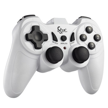 Curved btp-2120 small vibration game controller computer pc wired usb dual vibration joystick(China (Mainland))