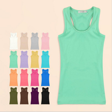 Women Tank Top 2016 Summer Solid Women's Tanks Camisole Sport Fitness Women Tops Vest Tank Shirt  Basic Casual Blouse Camis(China (Mainland))