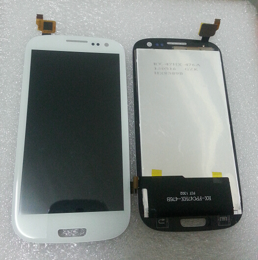 touch screen FYA590471210101 Glass Panel with LCD display RX-FPC47HX-476B for china clone android phone GT-I9300 S3