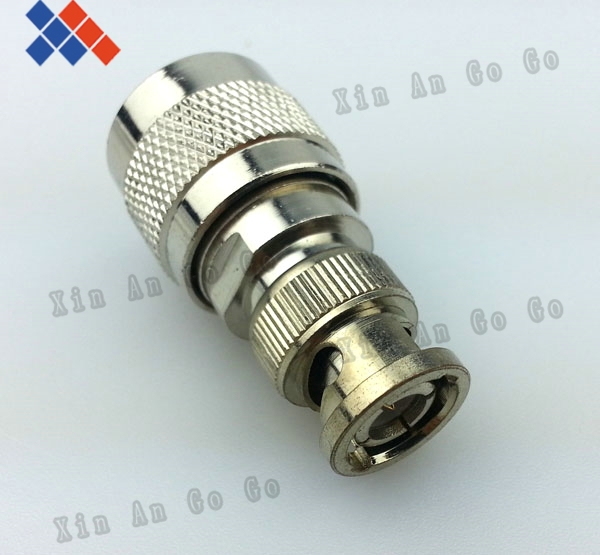 5PCS RF coaxial connector N male to BNC male connector Q9 adapter<br><br>Aliexpress