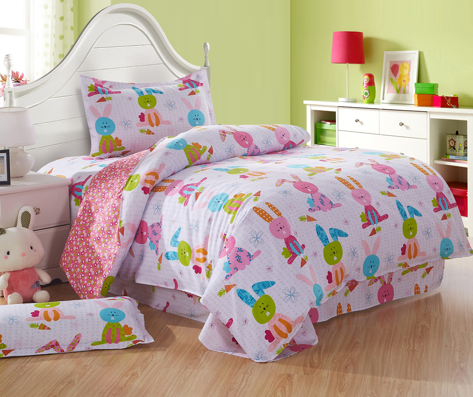 Popular rabbit bedding buy cheap rabbit bedding lots from for Super cheap bedroom sets