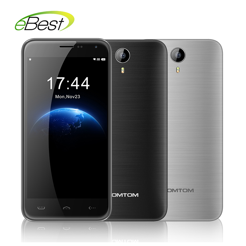 In stock Original HOMTOM HT3 Mobile Phone 3G WCDMA 5.0 inch Android 5.1 MTK6580 Quad Core 1280x720 1GB RAM 8GB ROM 8MP Dual SIM(China (Mainland))