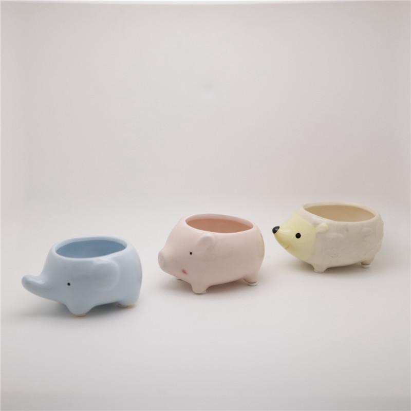 shop popular ceramic elephant planter from china aliexpress