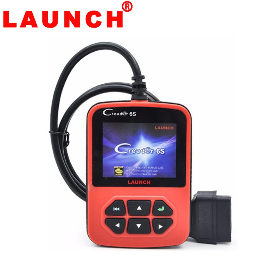 2015 OBD2 Scanner Launch X431 Creader 6S Code Reader Original Launch Creader VI Plus European & American version Free shipping(China (Mainland))