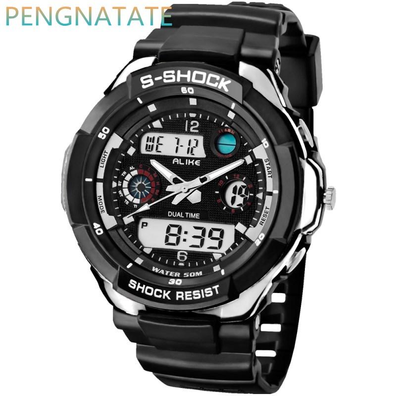 alike waterproof sports watches quality brand digital