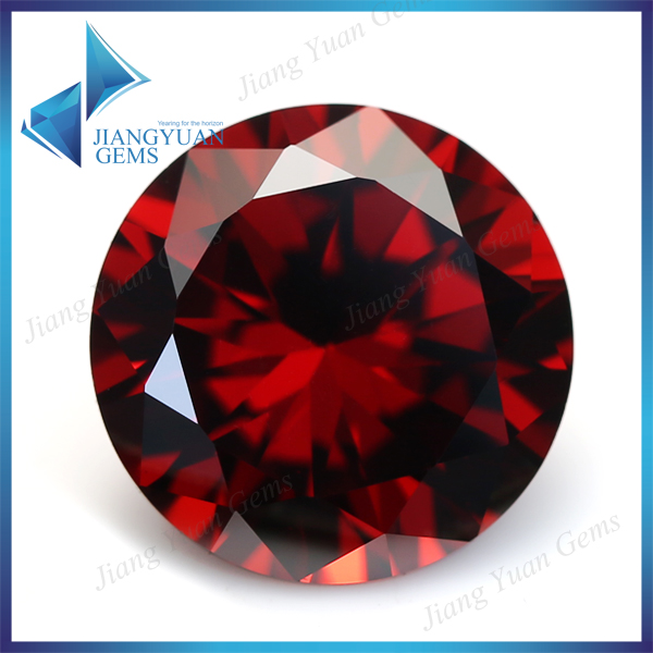 500pcs Wholesale 3A 1~3mm Brilliant Round Cut Garnet CZ Stone Blink Cubic Zirconia For Jewelry(China (Mainland))