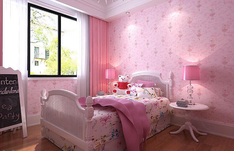 Sofa Kids Bedroom 3d Wallpaper Papel De Parede Modern Home Decor Glitter Wall