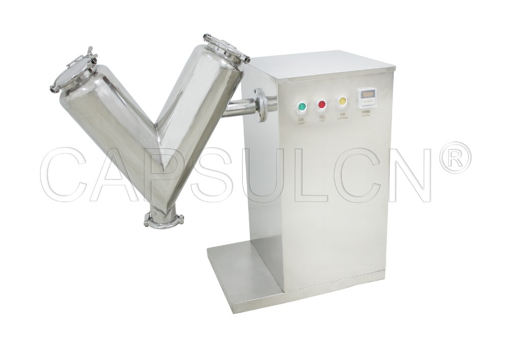Powder Blend Machine, Powder Mixing Machine, Powder Blending Equipment V-14 (220V 50HZ)(Hong Kong)