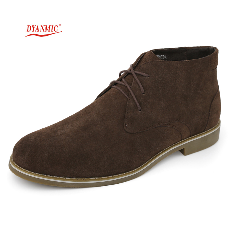 HOT SALES! DYANMIC New Arrival Italian Fashion Men's Black/Brown Winter Leather Boot Men Ankle Boot With Fur Lined Free Shipping(China (Mainland))