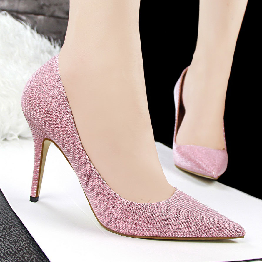 Cheap Pointed Toe High Heels
