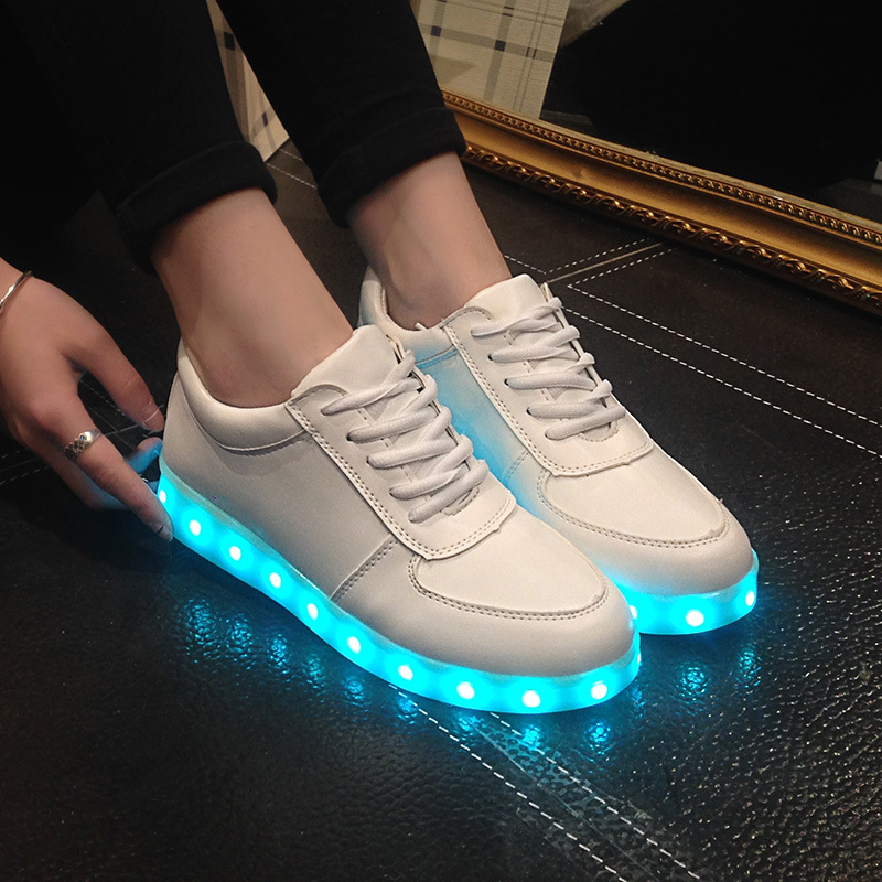 4f2340c5f1c Detail Feedback Questions about KRIATIV LED Usb shoes glowing ...