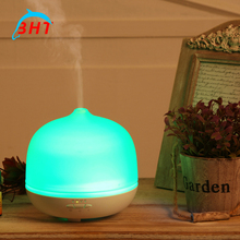 Elegant 500ml Electric Air Humidifier Colorful Bulbs LED Light Timing Adjustment Water Air Purifier Sterilization Aroma Diffuser(China (Mainland))