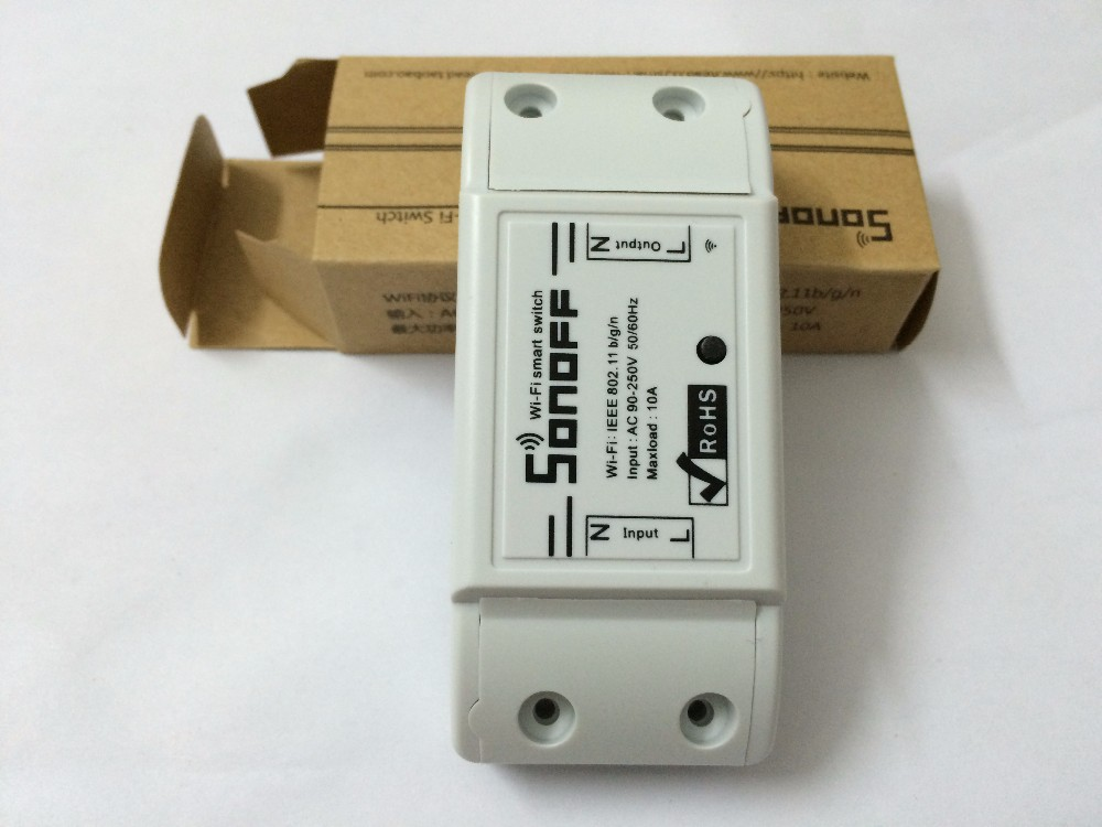 image for New Sonoff Smart Remote Control Wifi Switch Smart Home Automation Inte