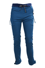 FAAJ 2016 Fashion Casual Low Waist Lace-Up Narrow Feet Polyester Long Pants For Men High Quality
