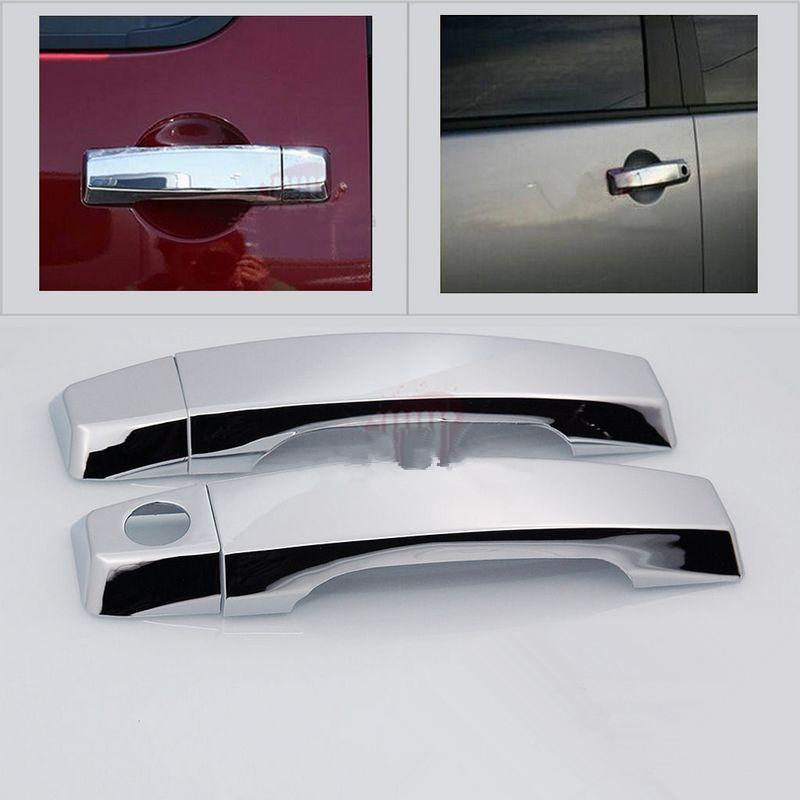 Chrome 2DR Door Handle W/O Passenger KH Cover For 04-15 Nissan Titan Armada(China (Mainland))