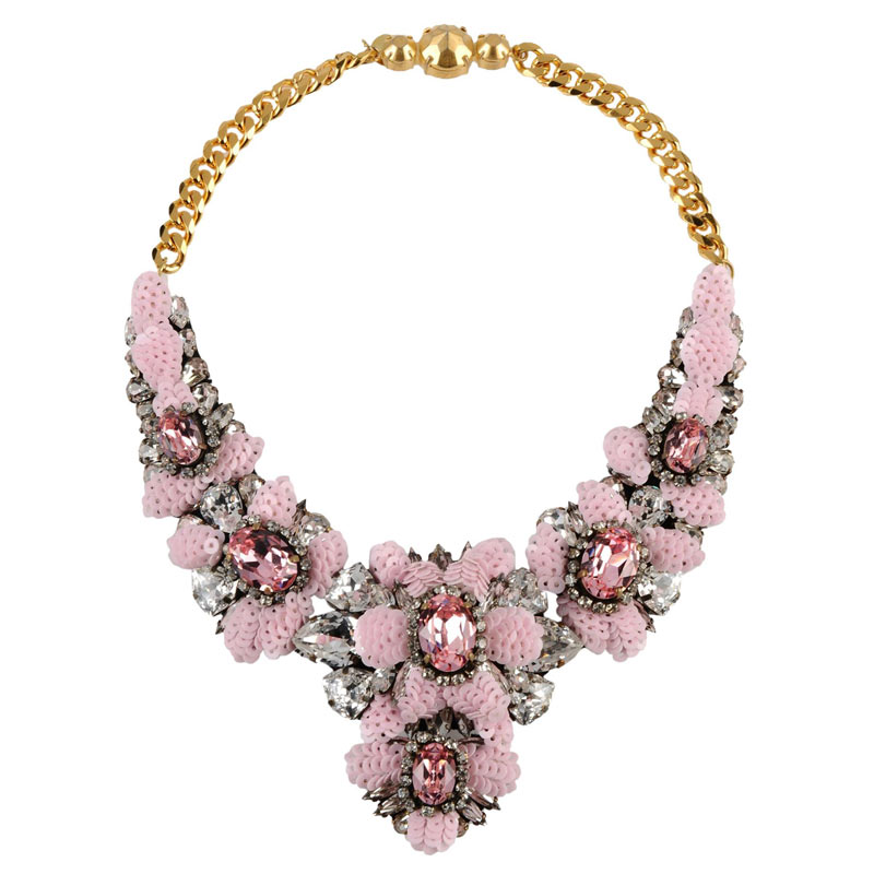 Shourouk Brand Design Sequins Rhinestone Necklace Chunky Collares Statement Necklace Spring Bohemia Jewelry Wedding Party<br><br>Aliexpress