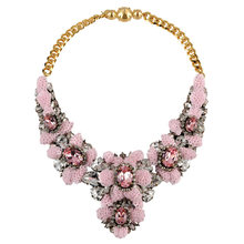 Shourouk Brand Design Sequins Rhinestone Necklace Chunky Collares Statement Necklace Spring Bohemia Jewelry Wedding Party(China (Mainland))