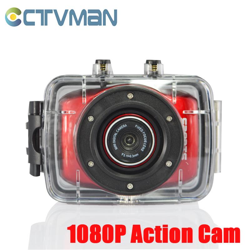 Sport & Action Cameras HD 1080P Waterproof Underwater Camera 2.0 Inch Screen Car Dvrs Bicycle Helmet Portable Camcorder Kamera(China (Mainland))
