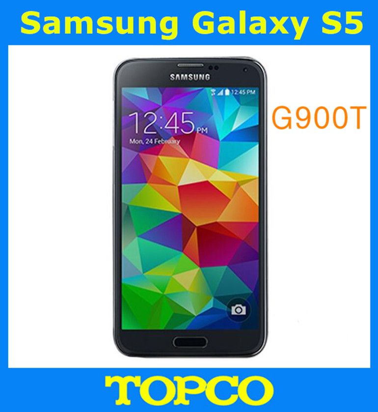 """Samsung Galaxy S5 T-Mobile Unlocked GSM 3G&4G Android Mobile Phone SM-G900T Quad-core 5.1"""" 16MP WIFI GPS 16GB Dropshipping(China (Mainland))"""