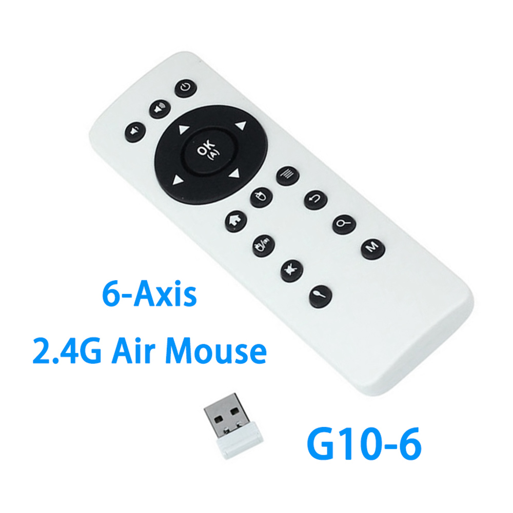 Motion Sensing Game Controller Android Air Mouse Magic G10-6 RF 2.4G Air Mouse Remote Controller for Android TV Box PC Projector(China (Mainland))