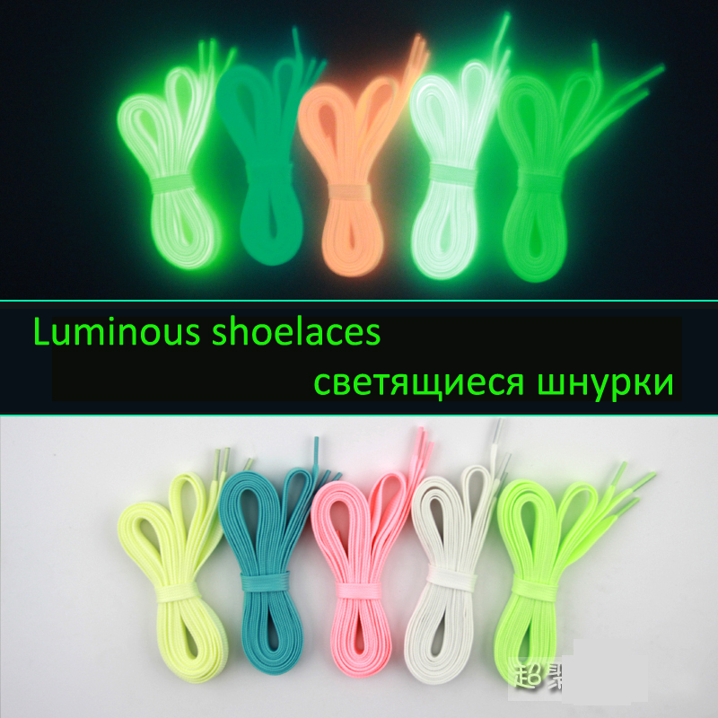 Luminous shoelace glowing casual led shoes Strings Athletic Shoes Party Camping shoelaces for growing shoes canvas shoes(China (Mainland))