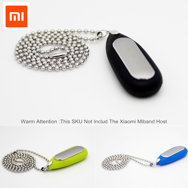 2016 Newest Xiaomi Mi Band Miband Silicone Necklace Carrier Case Replacement For Original Mi band Wrist