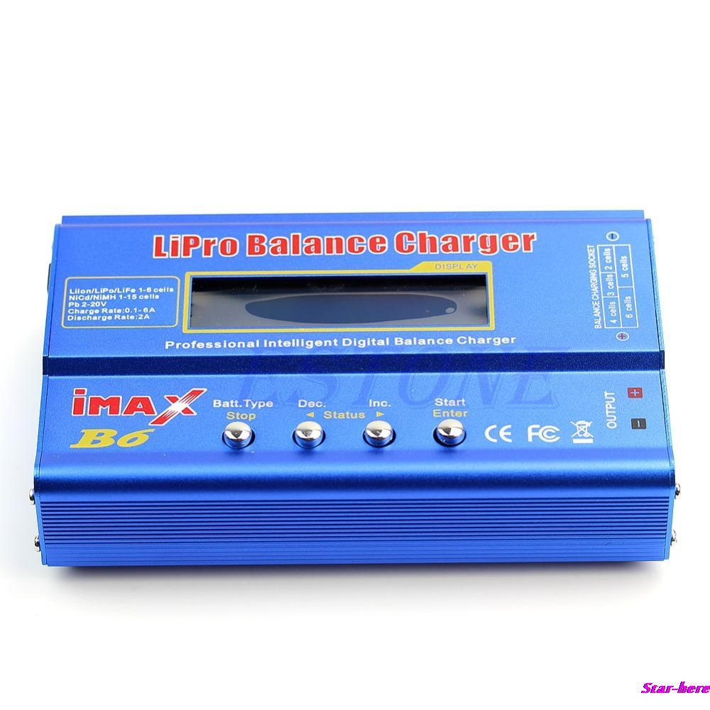New iMAX B6 LCD Screen Digital RC Lipo NiMh Battery Balance Charger