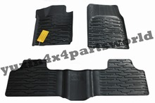Floor Mats&Carpets /Slush Mats All-Weather style Mopar OEM 3PC NEW For 2011 2012 2013 2014 2015 Jeep Grand Cherokee(China (Mainland))