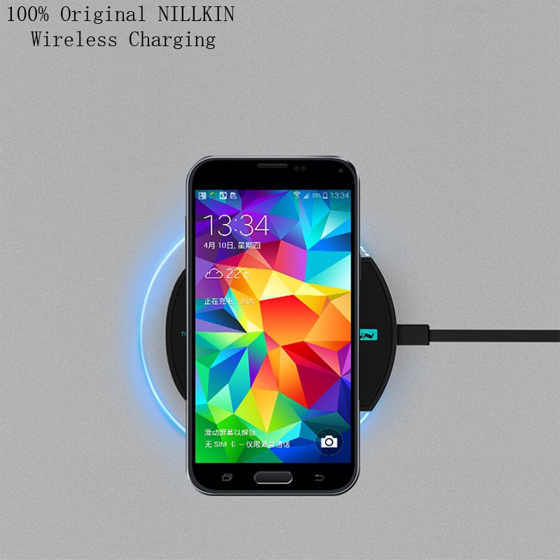 NILLKIN Magic Disk II Wireless Charger Pad Samsung S6 Edge/Nokia/Nexus 6/HTC/LG Qi Standard Mobile Charging Emitter - Sor E-commerce store