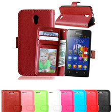 For Lenovo A319 Phone Cases Book Style Wallet PU Leather Case For Lenovo A 319 Skin Phone Case Cover With Card Slots Holder