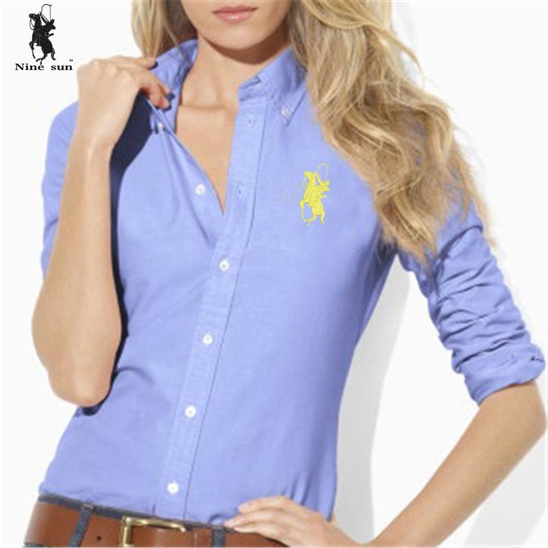 Fashion Sexy Brand Women 39 S Polo Shirt Long Sleeve Slim Fit