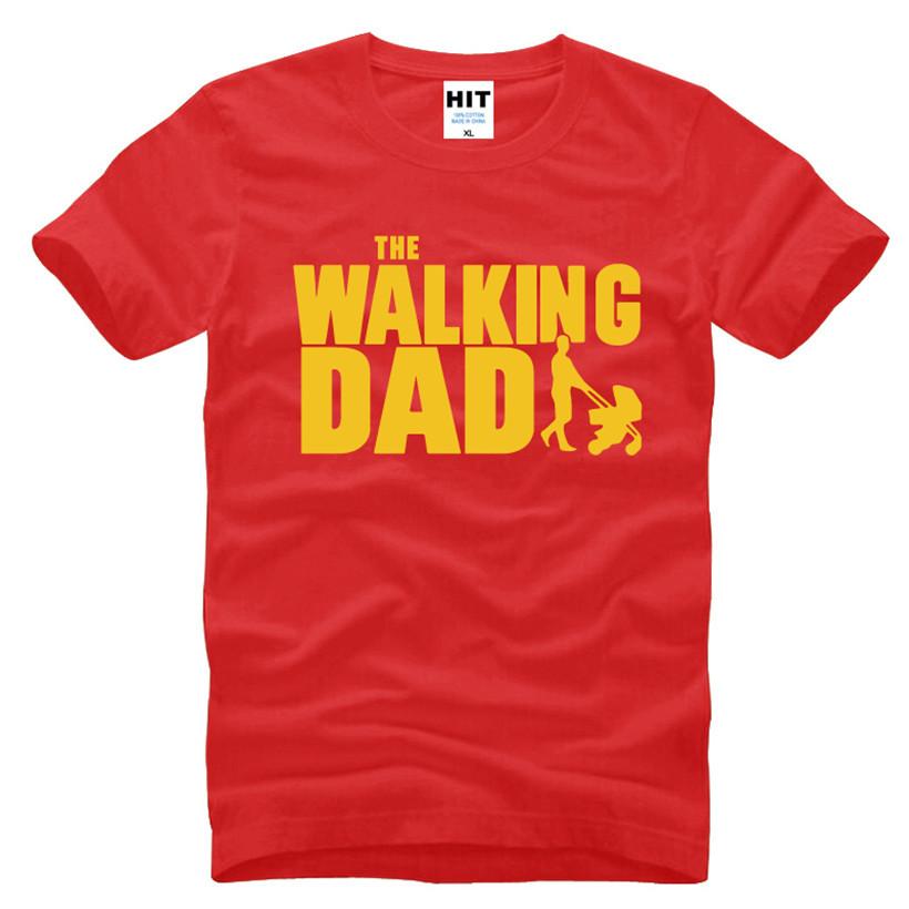 HTB1nPOzKFXXXXbRapXXq6xXFXXXF - The Walking Dad Fathers Day Gift Men's Funny T-Shirt T Shirt Men 2016 New Short Sleeve Cotton Novelty Top Tee Camisetas Hombre