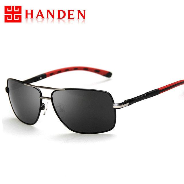 Высокого класса моды поляризованных солнцезащитных очков мужской джентльмен очки ...