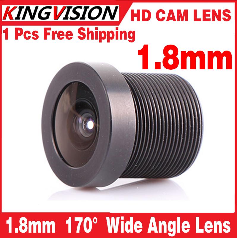 Placa de Montagem da lente 1.8mm 170 Graus Wide Angle CCTV Conselho IR Camera Lens(China (Mainland))