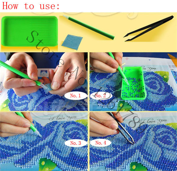 Needlework resin 5d diy square full drill diamond painting cross stitch embroidery basket of flowers pattern