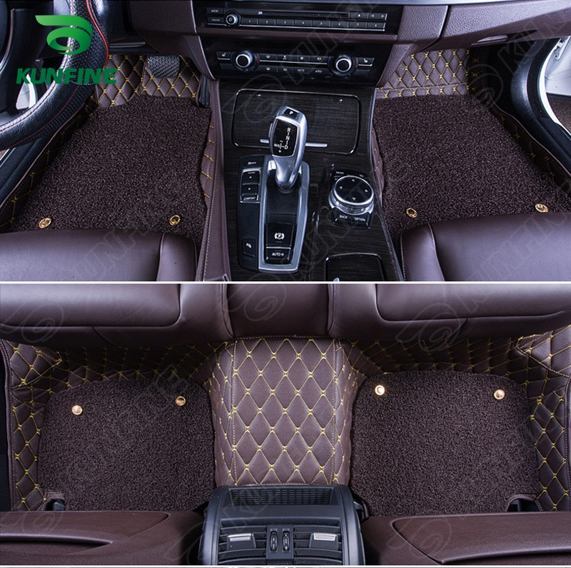 Top Quality 3D car floor mat for KIA K3 foot mat car foot pad with One Layer Thermosol coil Pad 4 colors Left hand driver(China (Mainland))