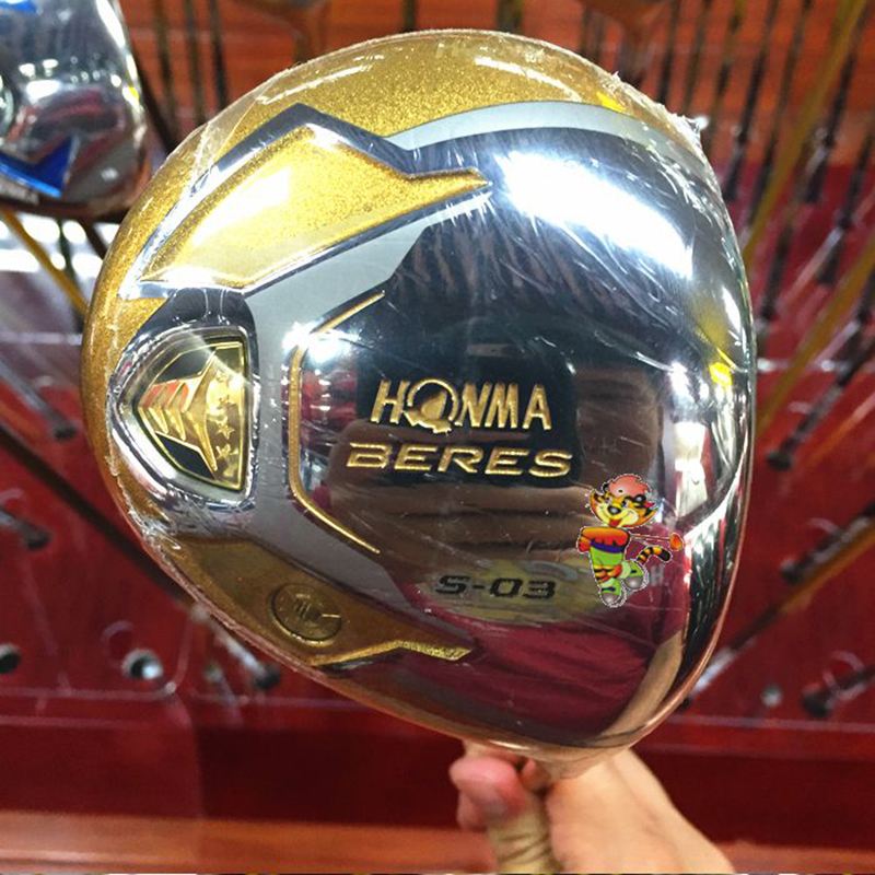 HONMA S-03 golf clubs wood driver men's R/S 10.5 four star 2016 new(China (Mainland))