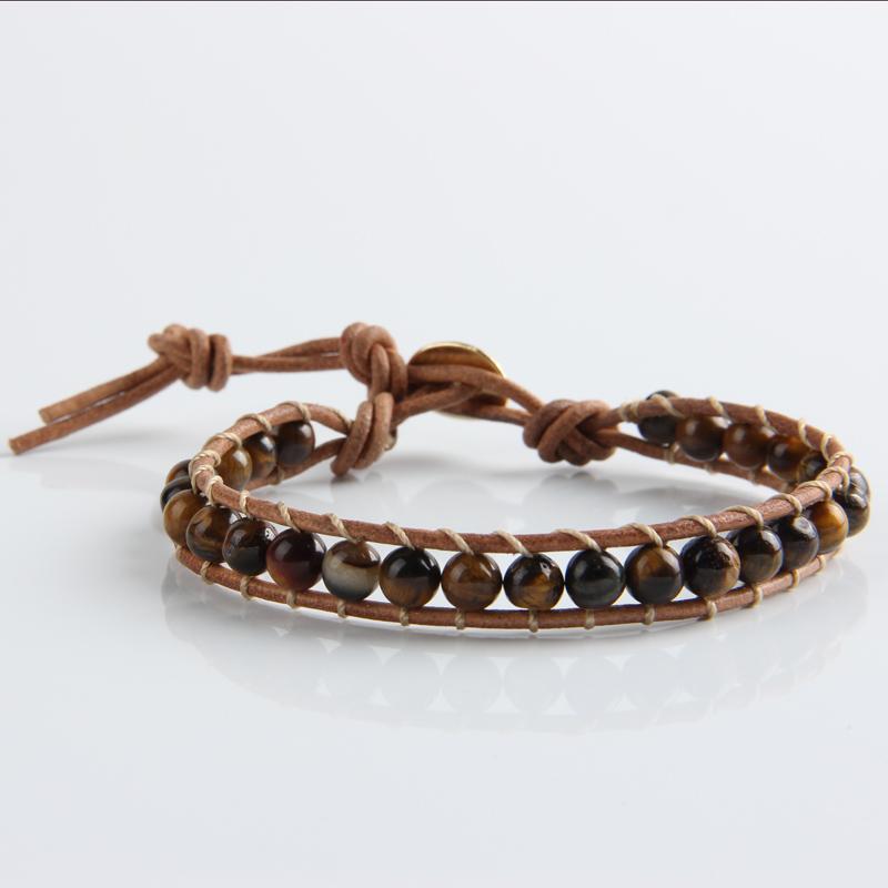 1 layer bead bracelets bangles