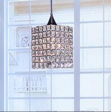 2016 new Simple modern LED crystal chandelier lamp Artistic Dining room living room bedroom den aisle lights chandelier Square(China (Mainland))