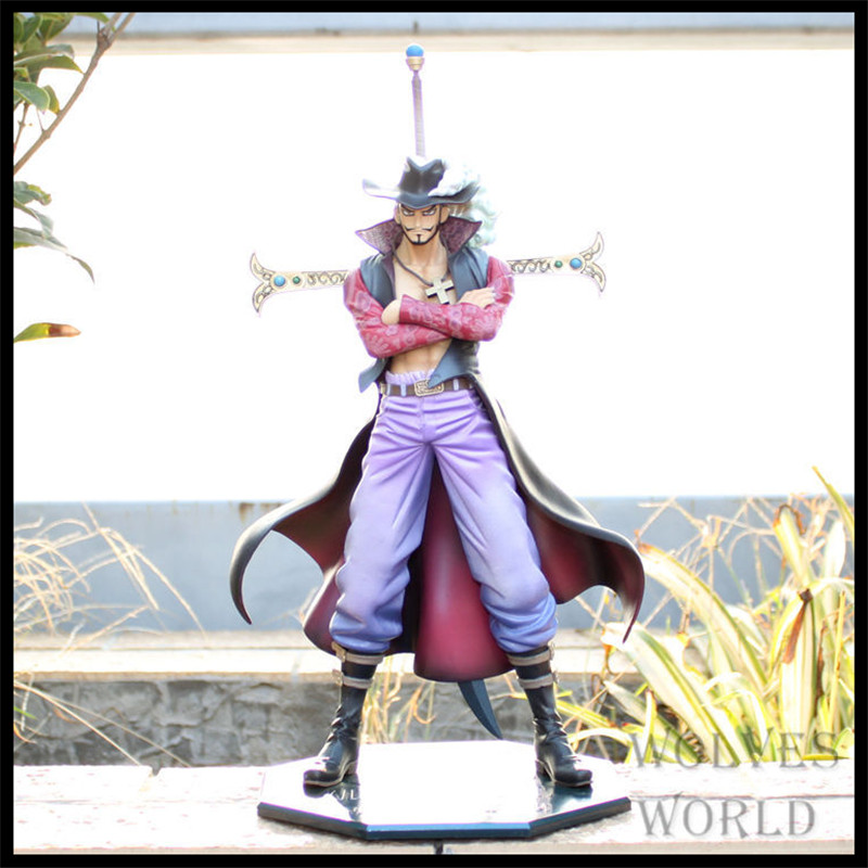 Japan One Piece New World Anime Figuarts Seven Warlord Mihawk Action Figure PVC Boxed Limit Model Garage Kits Kids Toys 0106(China (Mainland))